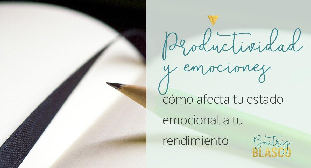 Productividad y emociones