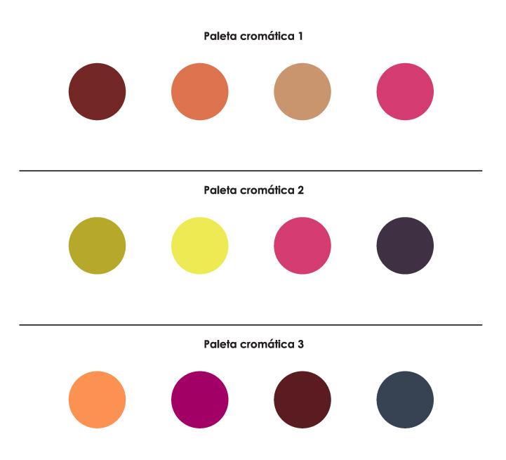 Paletas cromáticas